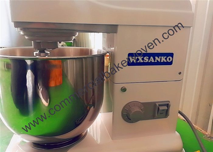 1200W Electric Cake Mixer Variable Speed Customized Color Easy Operat